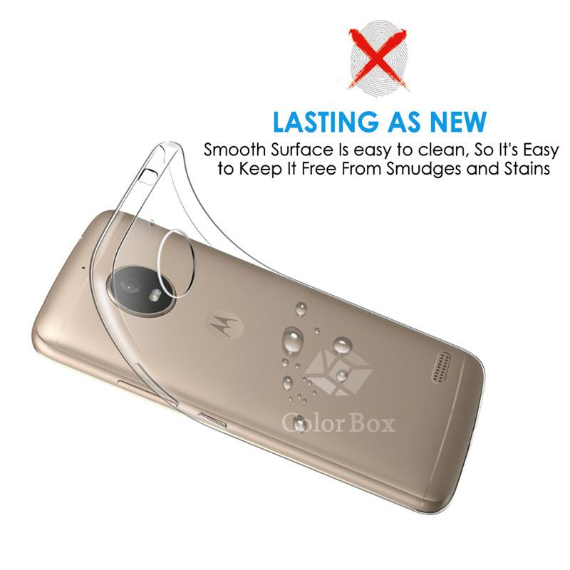 MR Motorola Moto e4 UltraThin Motorola Moto E4 / Silikon Moto E4 / Ultra thin Moto E4 / Casing Motorola Moto E4 / Silikon lentur - Transparan