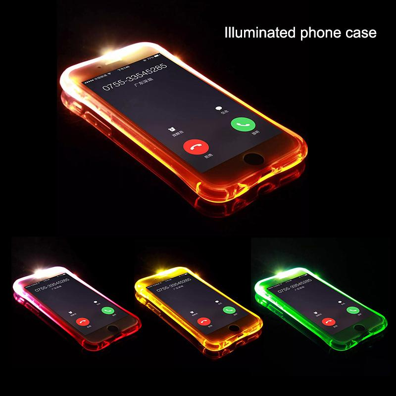Features Ybc Transluscent Soft Cover Case With Led Backlight Protect