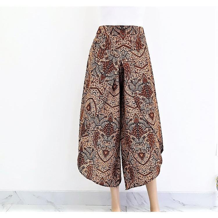 Toko Pitakita Celana Batik Kulot Panjang Wilona W11 Lengkap Dki Jakarta