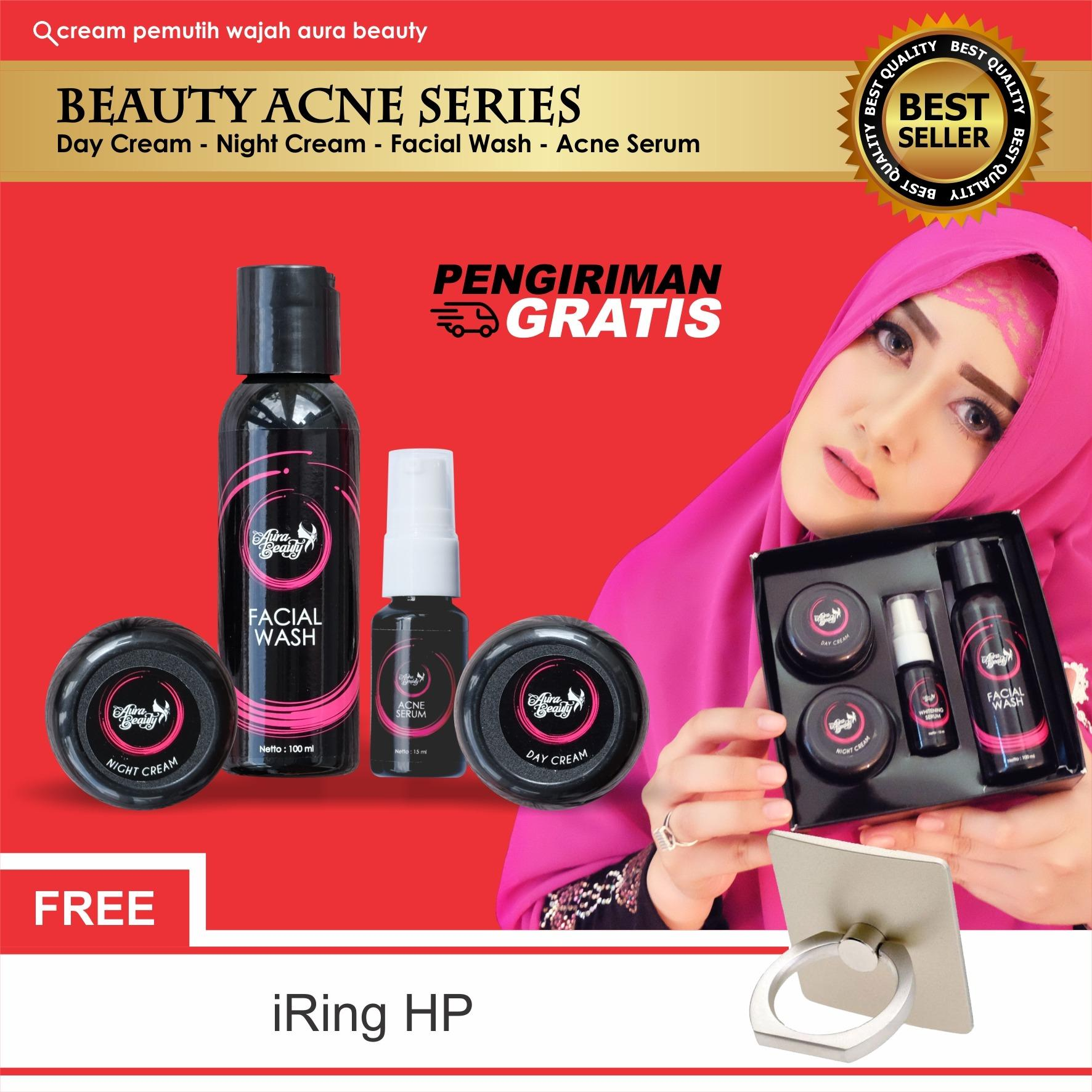 Toko Aura Beauty Cream Wajah Terbaik Terlaris No 01 Memutihkan Dengan Merata Hasil Alami Tidak Pucat F*C**L Wash 100Ml Dekat Sini