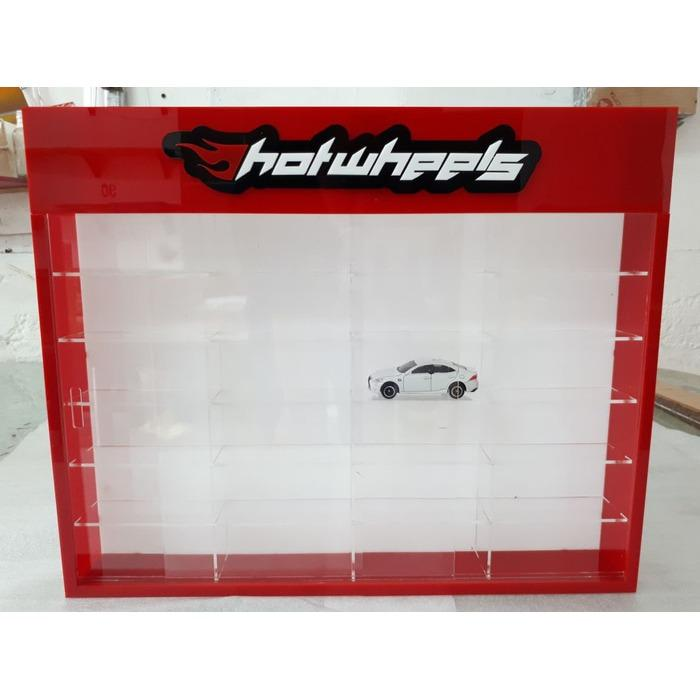 Jual Rak Rack Hotwheels 1 64 Isi 24 Header Slim Fit Edition Branded
