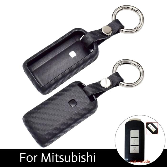 """Car Key Cover Smart Key Carbon Mitsubishi Pajero, Expander\"""