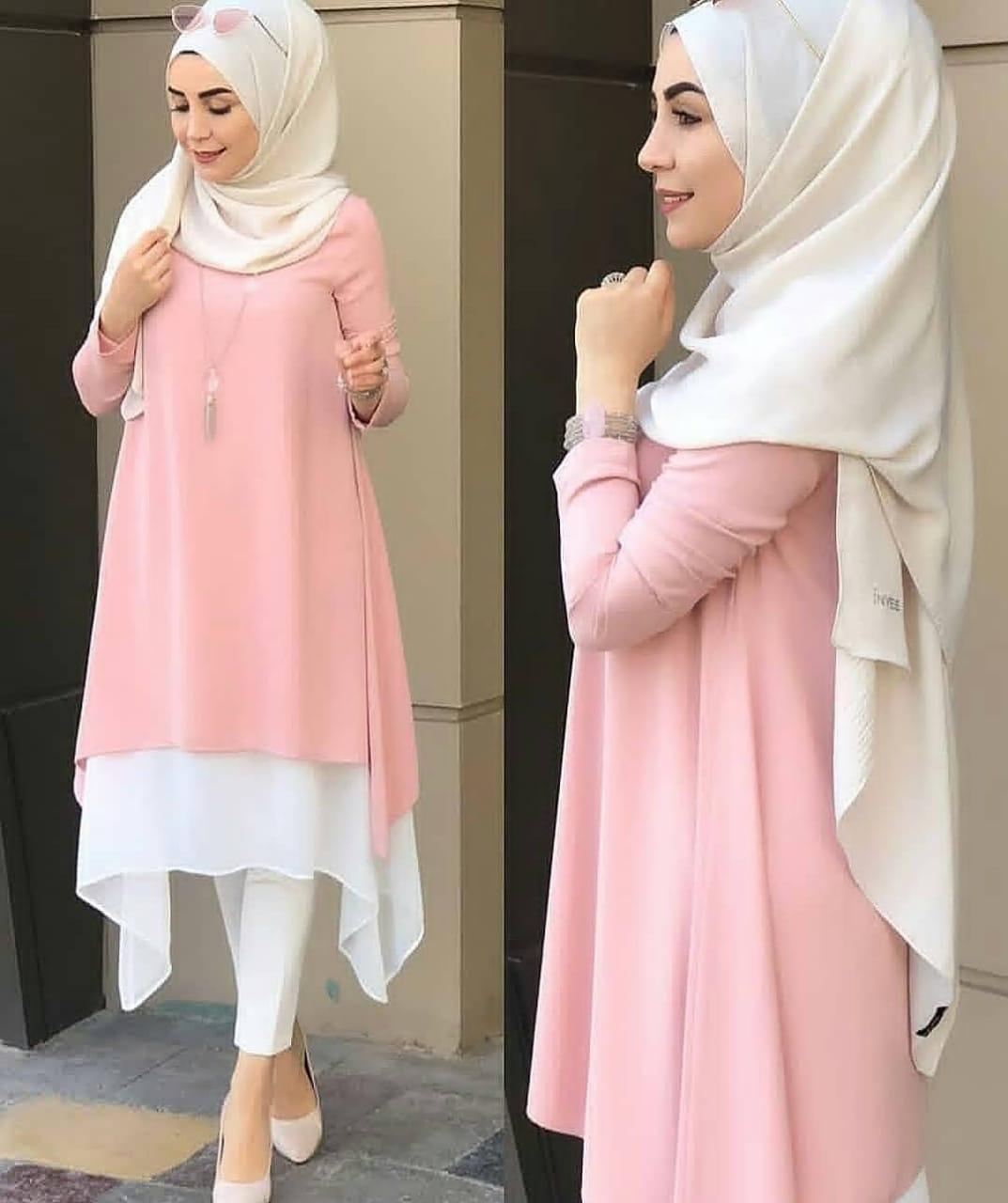 Model Baju Atasan Remaja Terbaru 2018 2019 Atasan Dress Gamis Muslim
