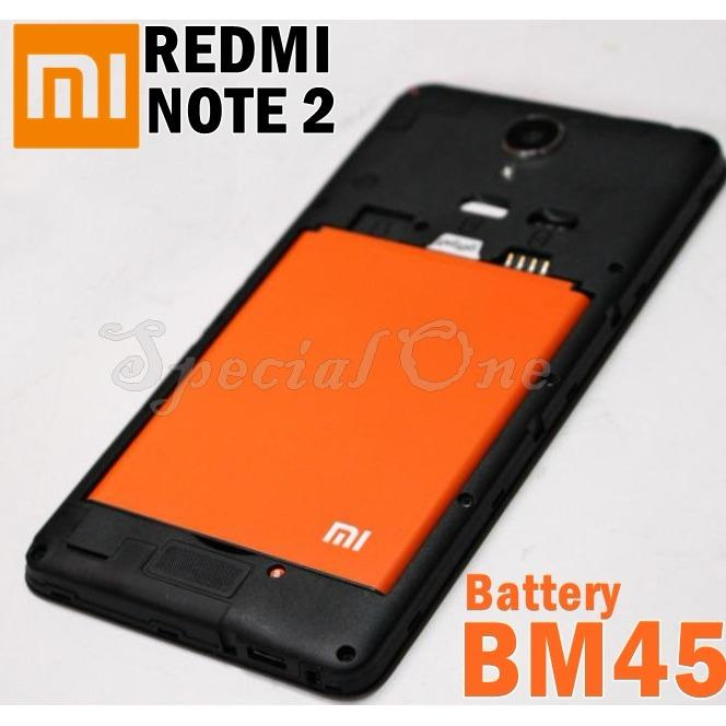 Xiami Baterai for Xiaomi Redmi Note 2 original Battery BM45