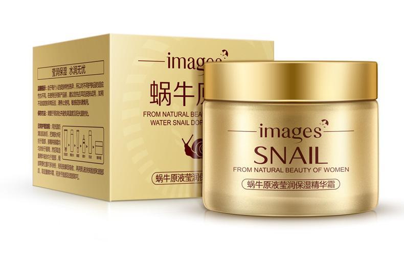 Bioaqua Serum Krim Wajah Snail Anti Aging Face Cream s4088 - 120g