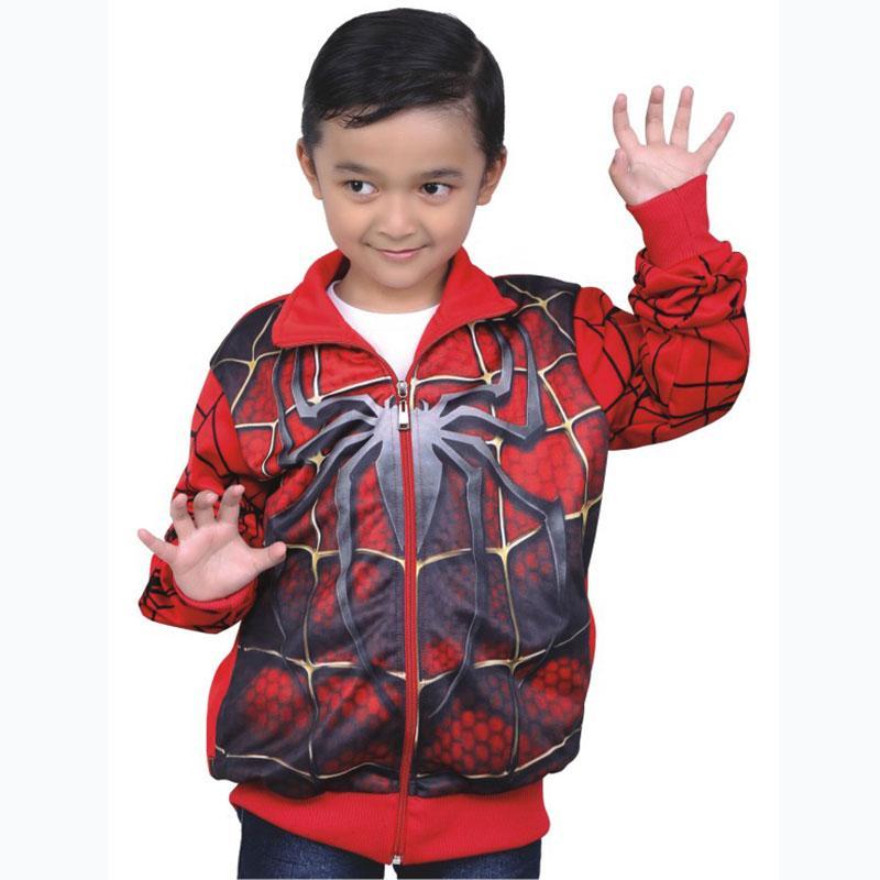 Diskon Jaket Spiderman Anak Laki Laki Cowok Jacket Warna Merah Cyi 159 Cr C Junior Jawa Barat