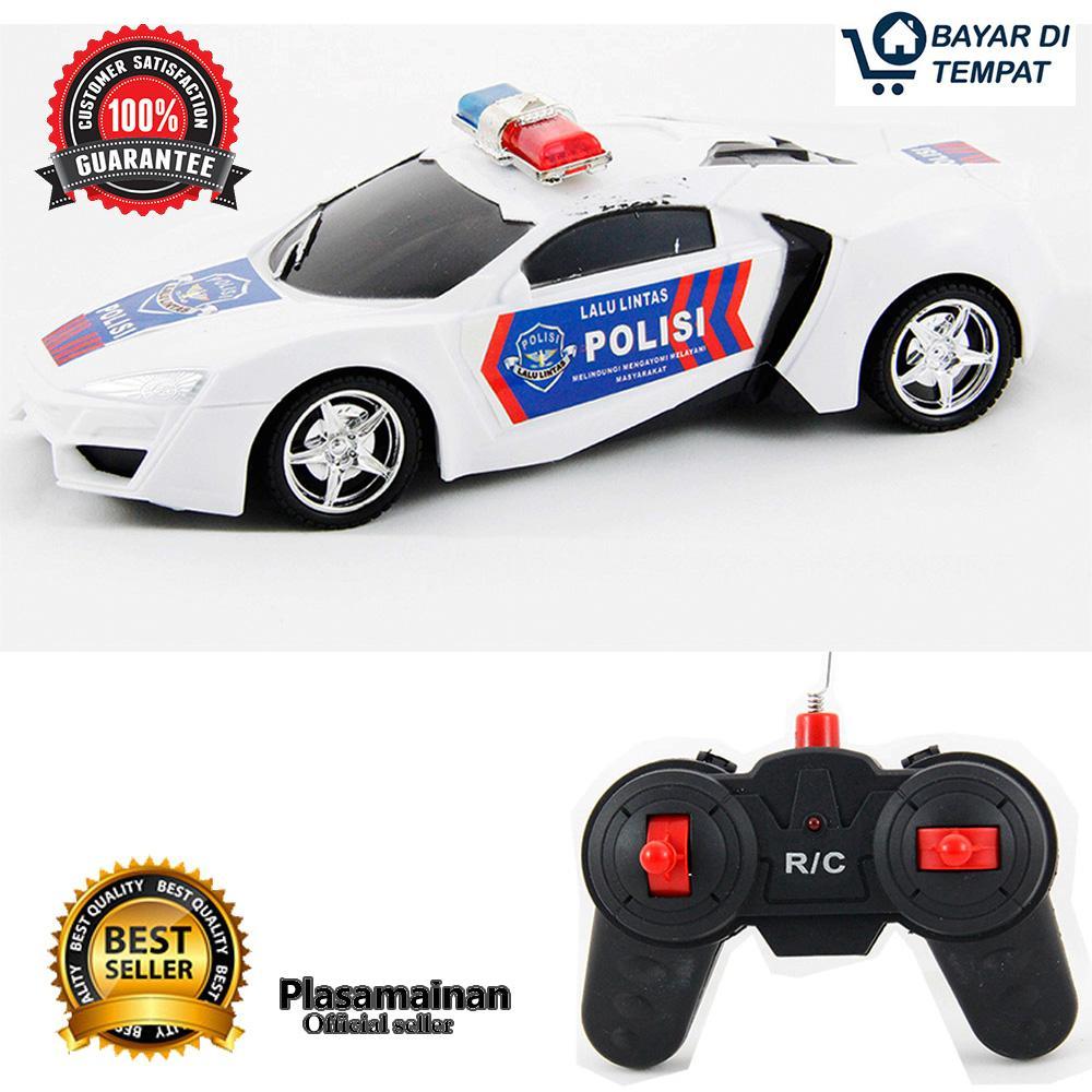 AA Toys Mainan Mobil Remote Police Car - Mobil Remot Polisi