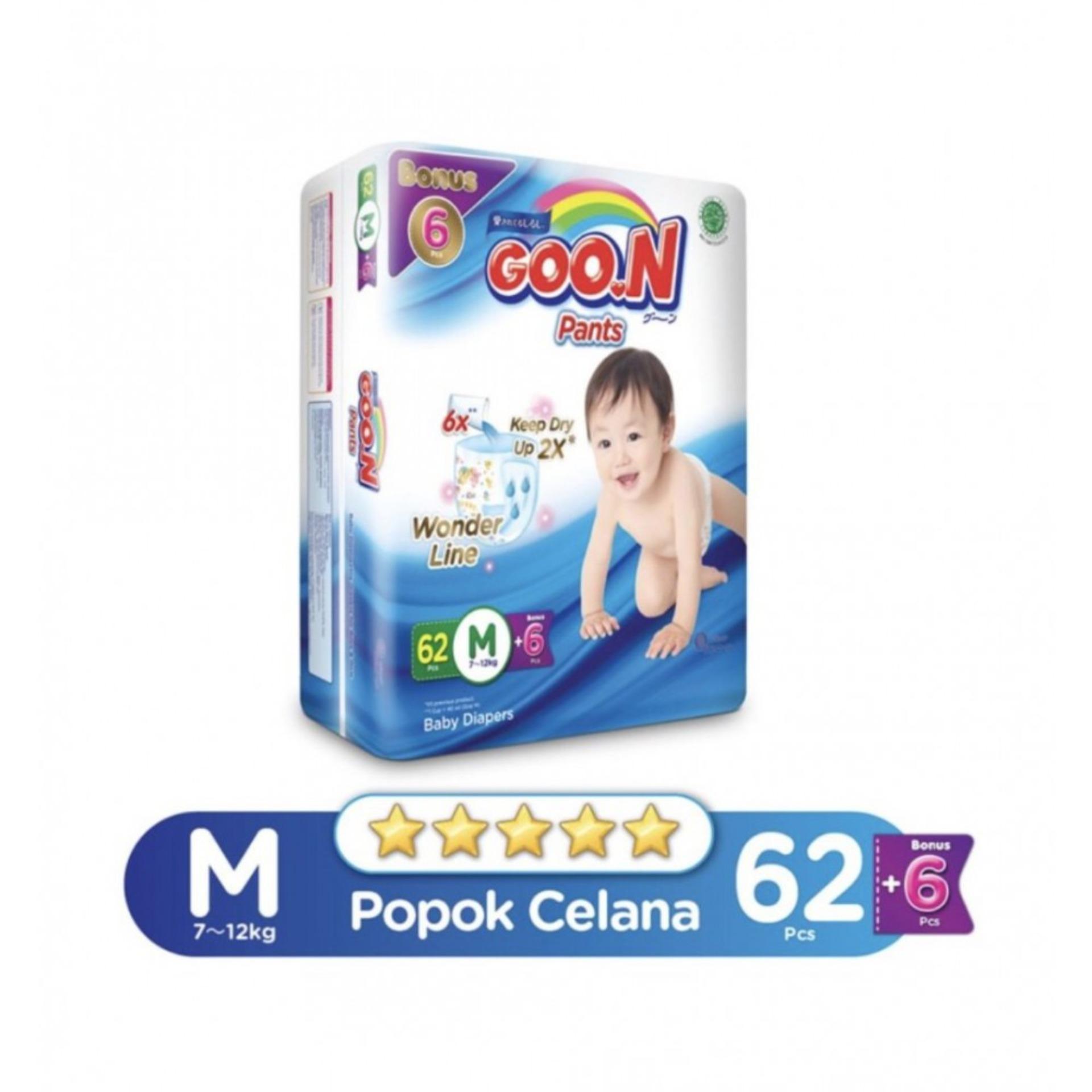 Review Dan Harga Goon Excellent Dry Tape S44 Jual Beli Online 2018 Mamypoko Nb S 44 Standar Perekat Soft Premium Pants Super Jumbo M 62 6
