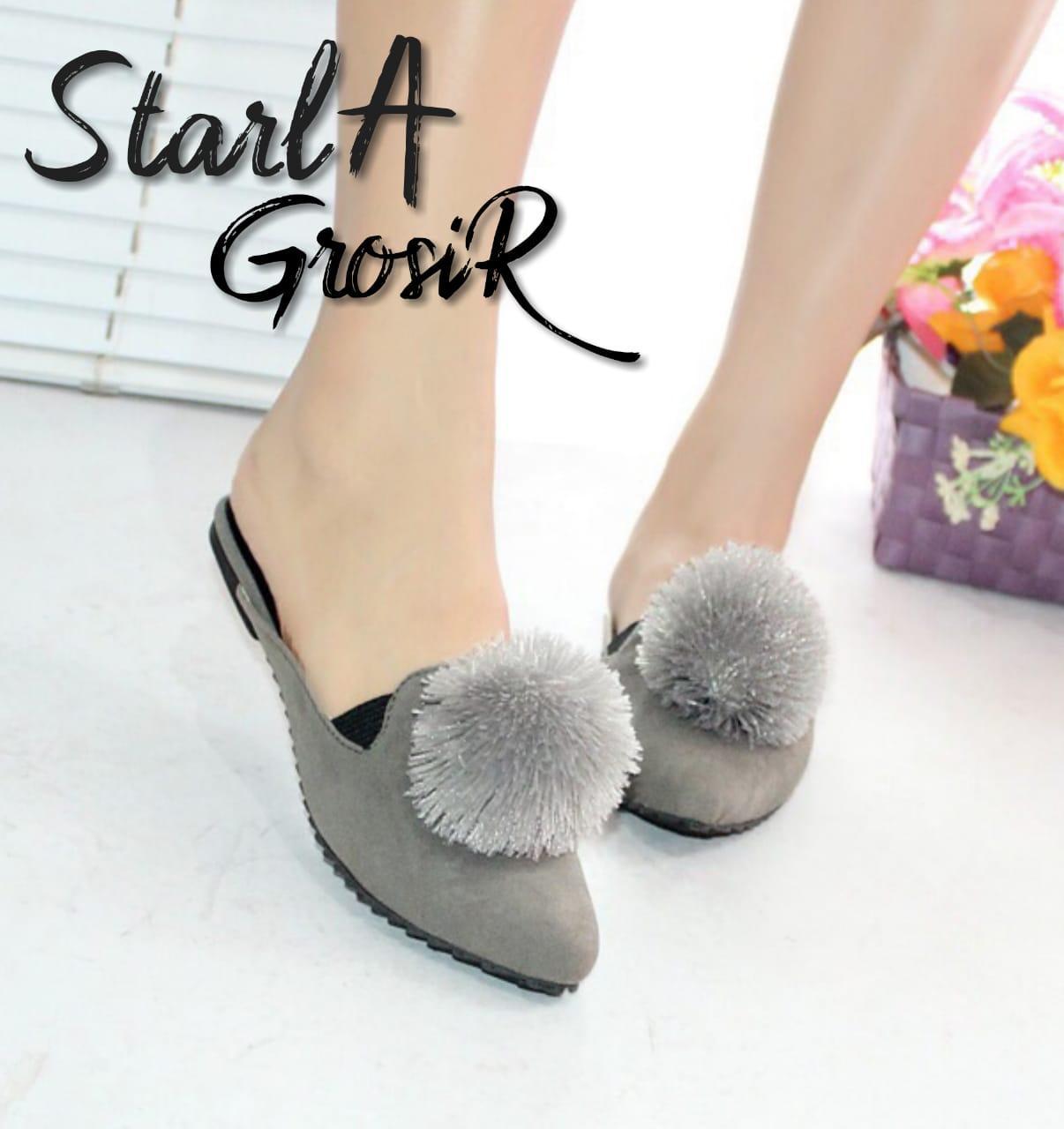 Starla Grosir - Sepatu Wanita Flat Shoes PM - 01