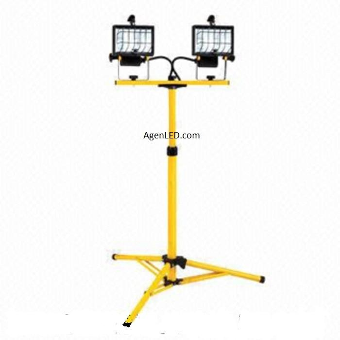 Tripod lampu sorot LED tiang lampu tripod lampu flood light floodlight