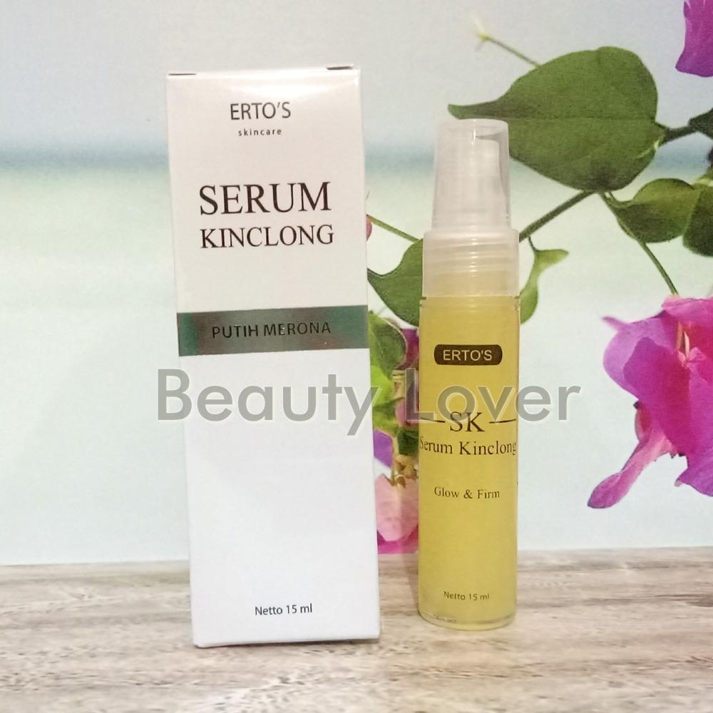 Cuci Gudang Original Ertos Serum Kinclong Pencerah Wajah Serum Ertos Sk