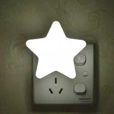 Lampu Tidur Bintang Sensor Cahaya Hemat Listrik Otomatis Nyala Jika Gelap