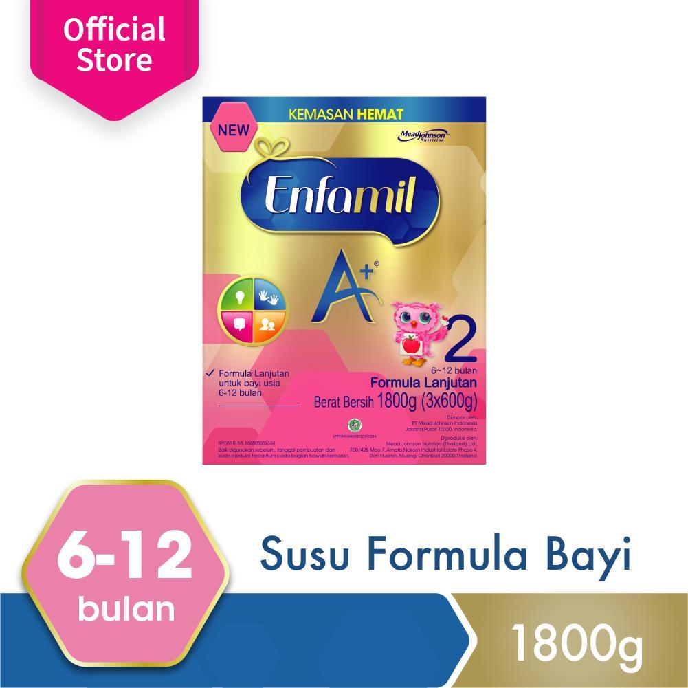 Spesifikasi Enfamil A 2 Susu Bayi Plain 1800Gr Online