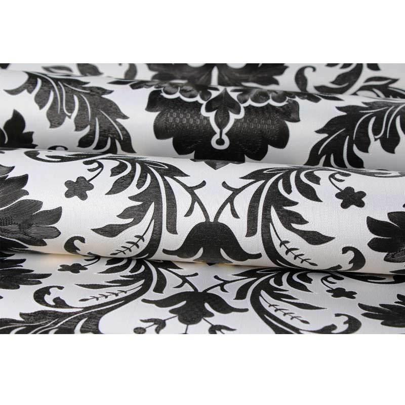 Gambar Produk Rinci walpaper motif batik hitam kalasik-45x10 meter sticker dinding Terkini