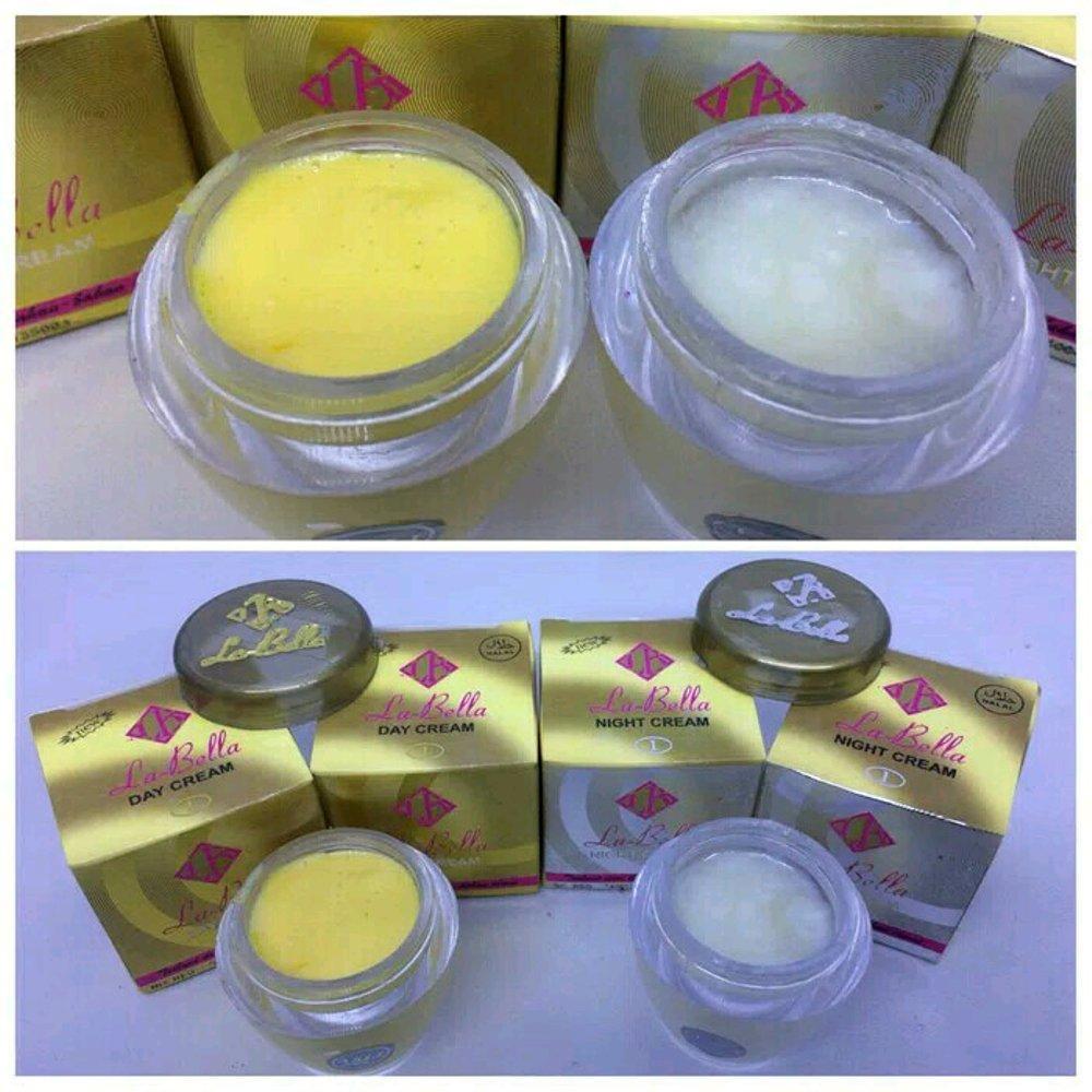 Detail Gambar LaBell Cream Pemutih Wajah Paket Siang & Malam Ori - La-Bella Cream Siang Malam Terbaru