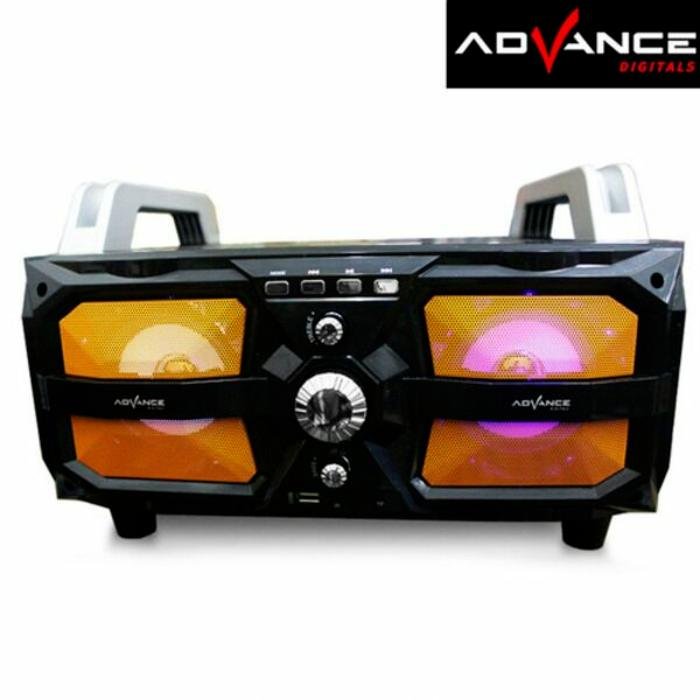 Speaker Aktif Portable Bluetooth Karaoke and USB Advance M330BT