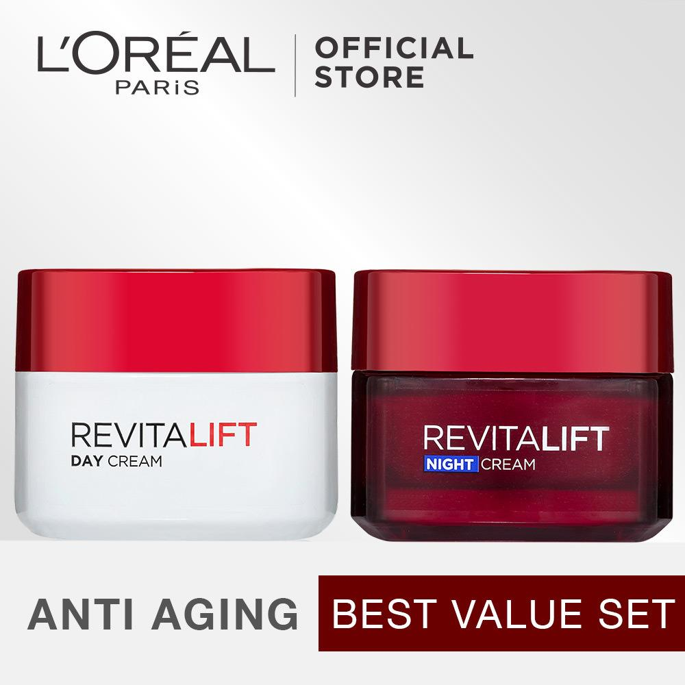 Harga L Oreal Paris Dermo Expertise Revitalift Dermalift Best Value Set Asli