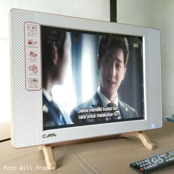 Promo LED TV Monitor CMM 17 inch Slim VGA AV HDMI USB Movie Advertising Murah