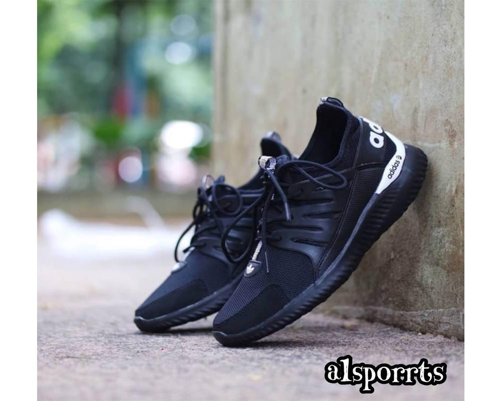 Sepatu Sneaker Adidas Alphabonce Tubular Hits Color Black