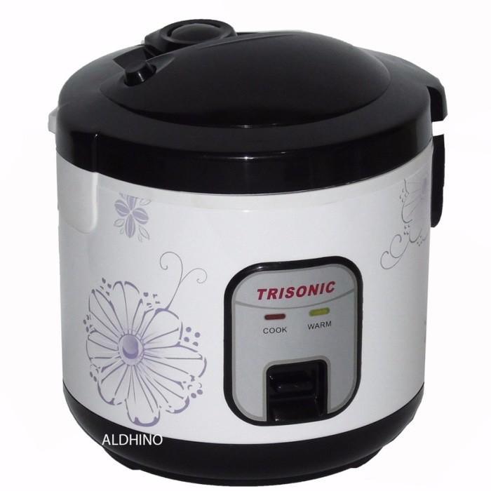 Rice Cooker 1-2 Liter Merk Trisonik Bagus Seperti Magic Com Philips - Xpjthz