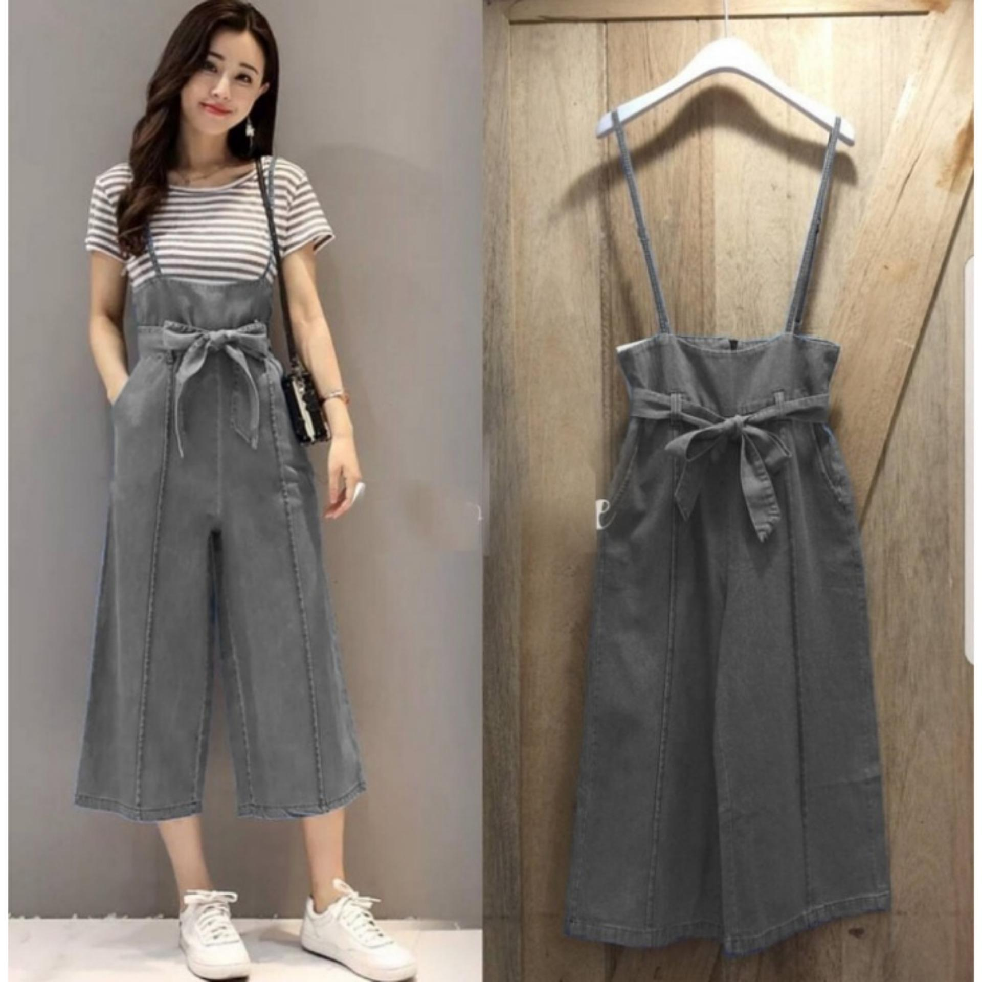 9 Shop Jumpsuit Wanita BASIC ( Tanpa Kaos ) / Jumpsuit Celana / Baju Terusan Wanita