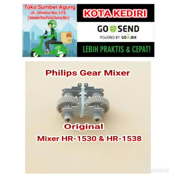 Philips Sparepart Gear Set Mixer - ready stock