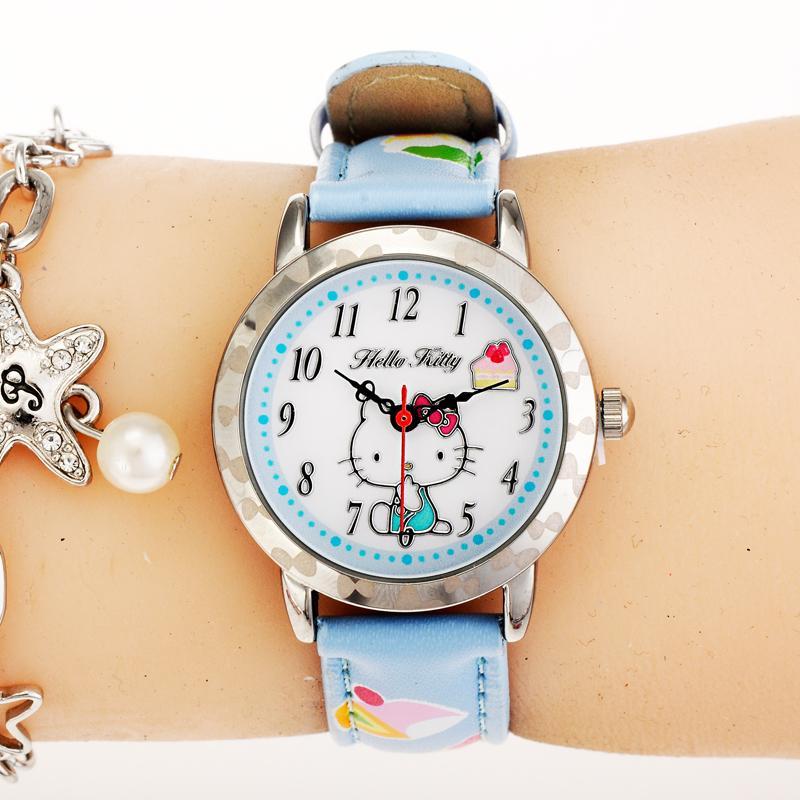 gadis payung digital jam tangan jam tangan anak Source HelloKitty Shi .
