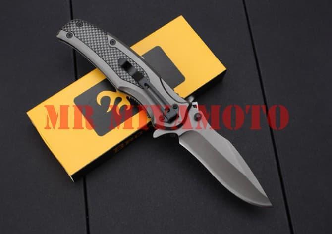 ... Pisau Lipat Folding Knife BROWNING Model X46 CpLJBc 3