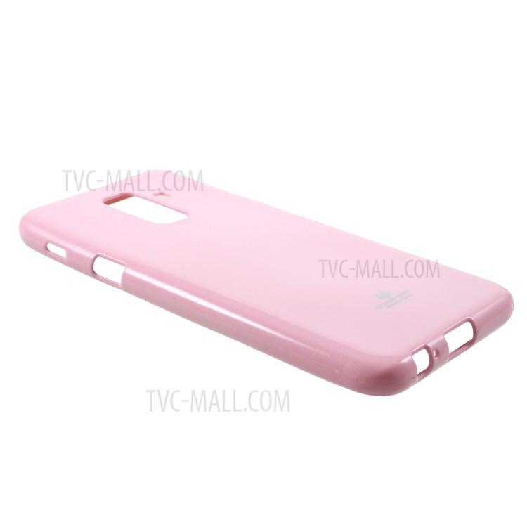 Detail Gambar Mercury Jelly Soft Case for Samsung Galaxy A6 Plus 2018 - Pink Terkini