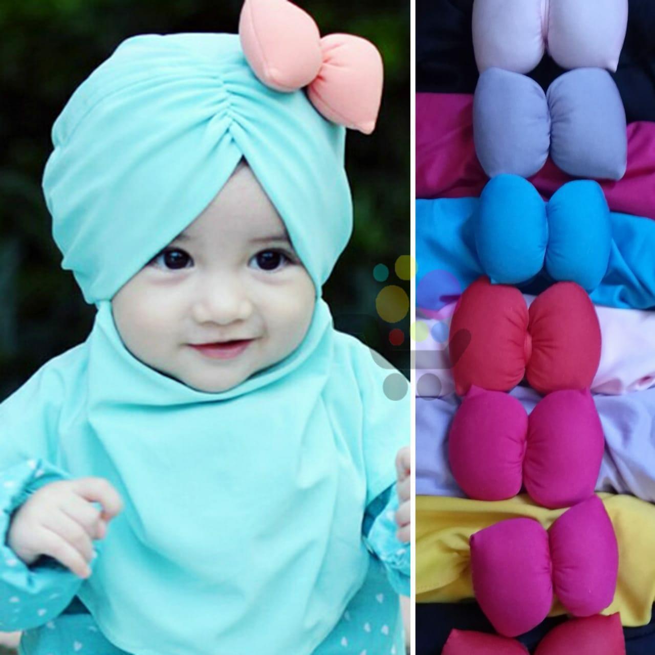GROSIR 3 Kerudung Anak Bayi PITA SAMP[ING / Jilbab Anak Bayi / Jilbab Bayi