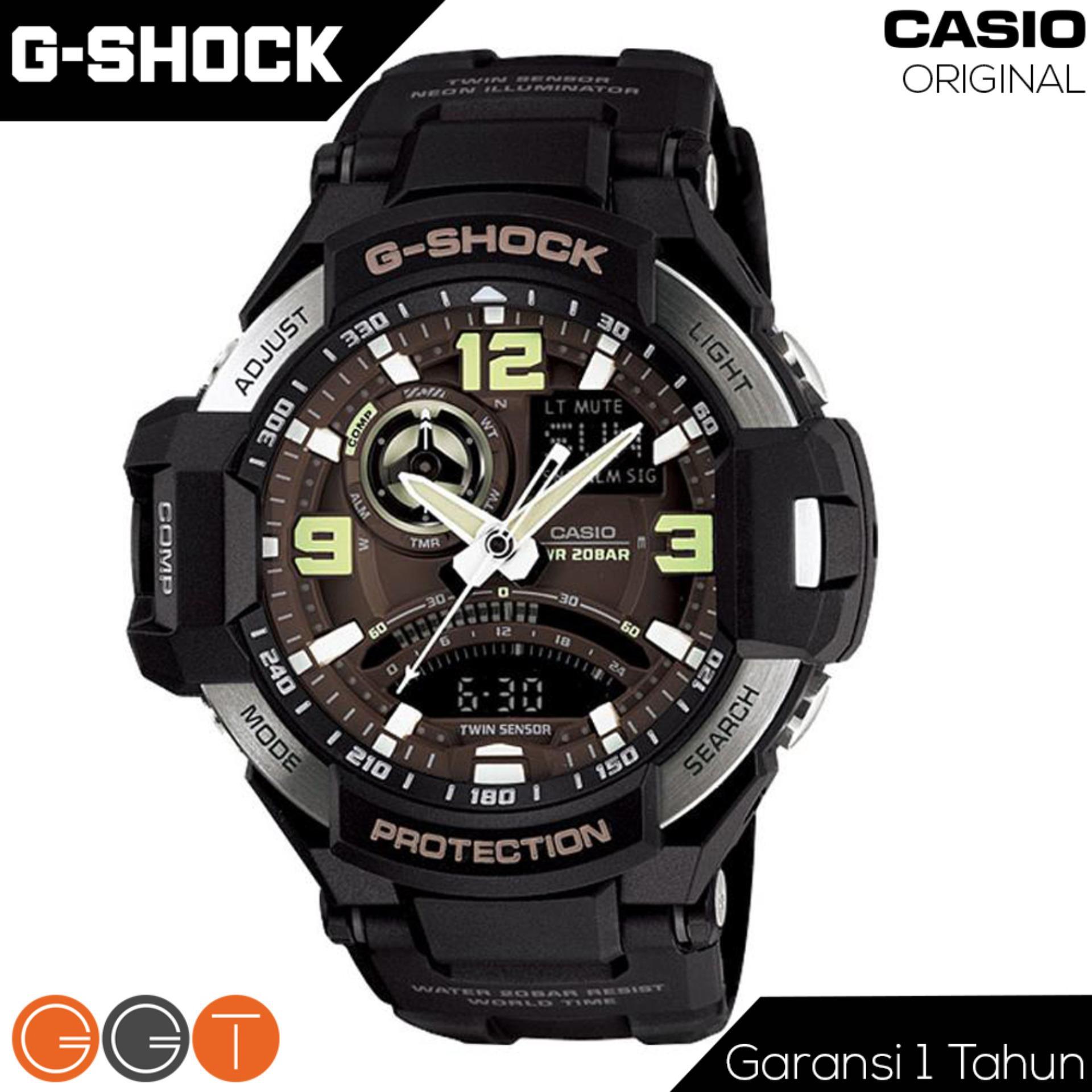 Casio G-Shock Gravitymaster - Jam Tangan Pria - Strap Rubber - GA-1000