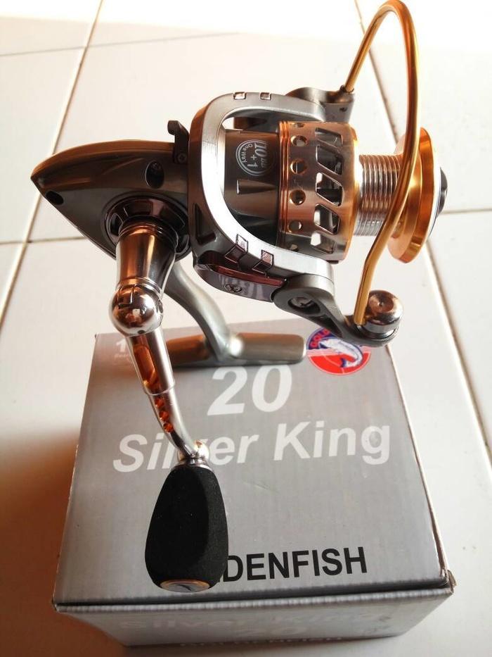Reel Golden Fish Silver King 11 Bearings