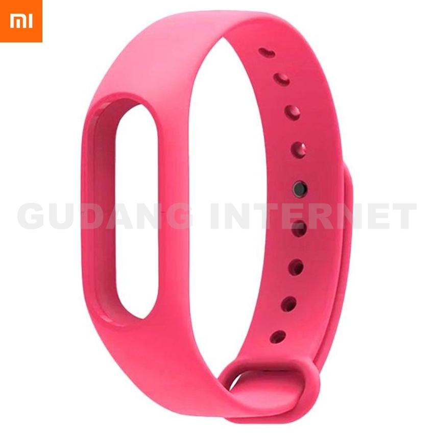 Xiaomi Gelang Strap Miband2 Silicone  Wristband For Watch Mi Band 2 / Miband2 / Millet 2 Gelang Jam