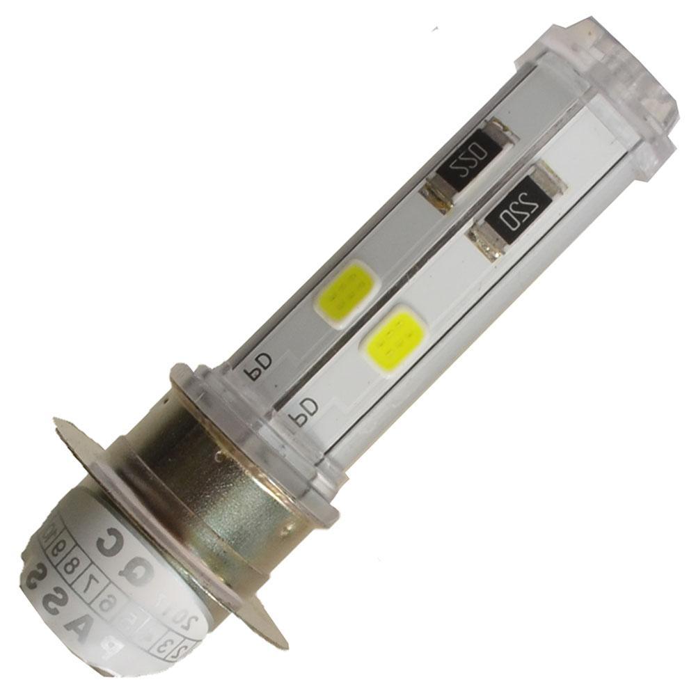 Kelebihan Rajamotor Lampu Depan Led H6 Ac Dc Dengan Titik Melingkar Rtd M11g Putih 7 Warna