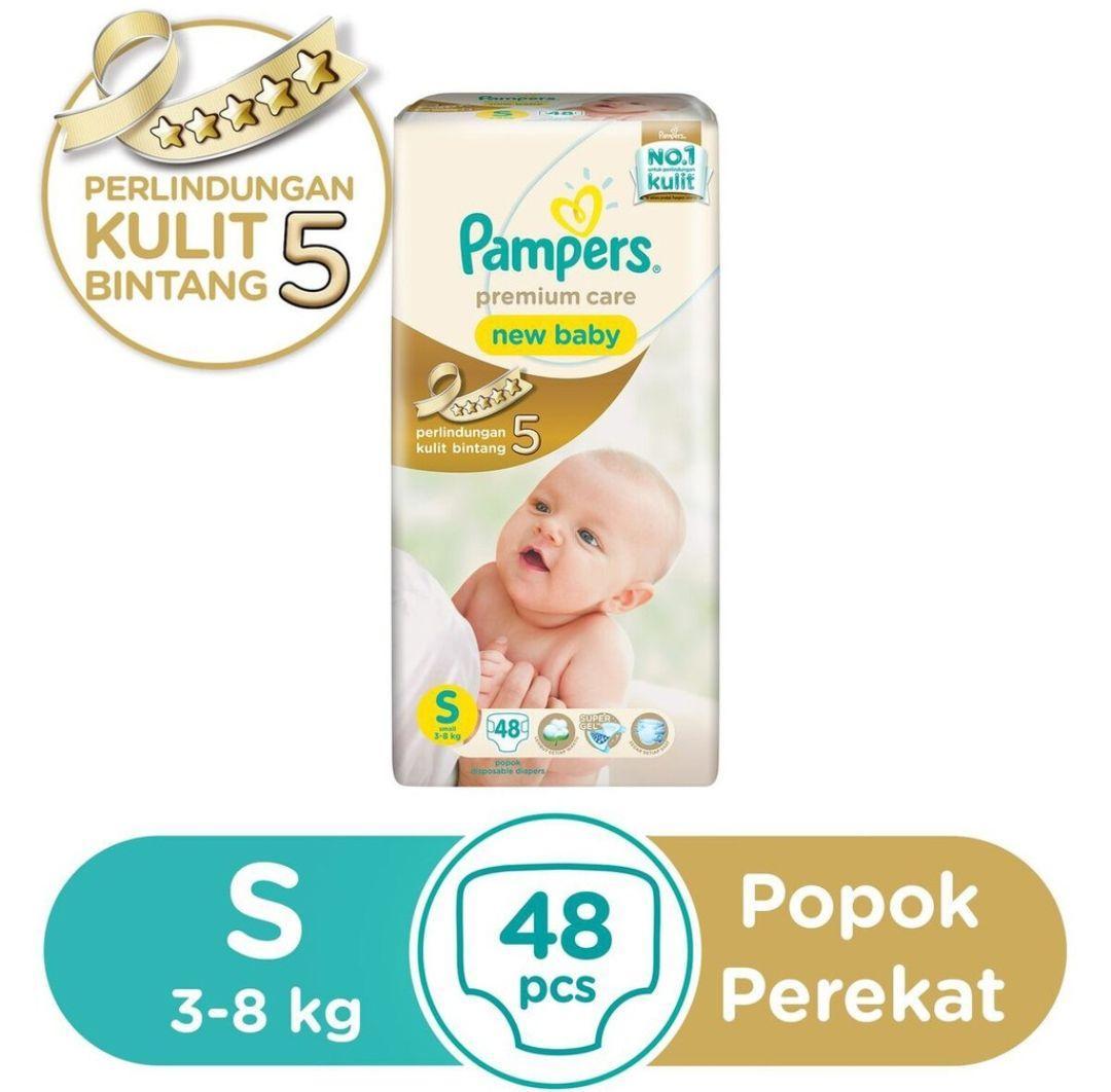 Pamper Tape S48 / popok bayi