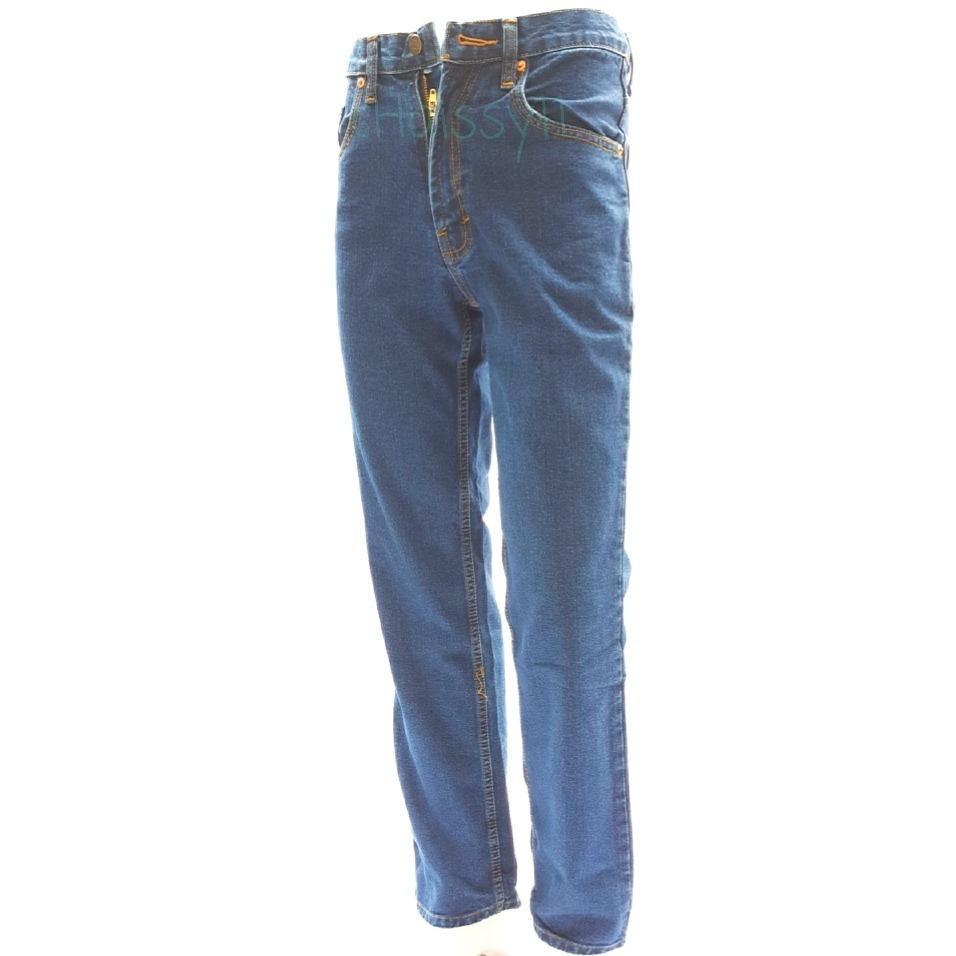 Celana Panjang Jeans Pria Cowok Big Size 36 37 38 39 40 41 42 43 44 44