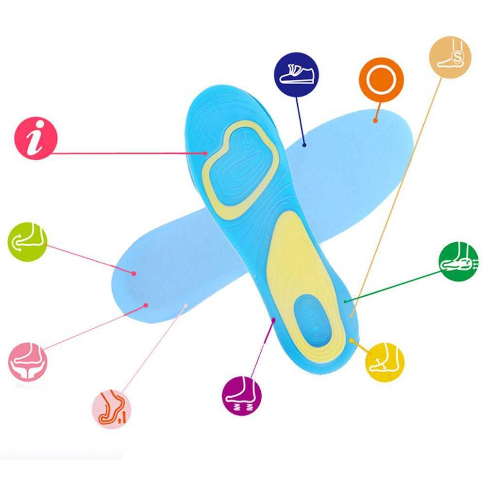 Detail Gambar Silikon Alas Kaki Sepatu Sport Shock Absorb Gel Terbaru