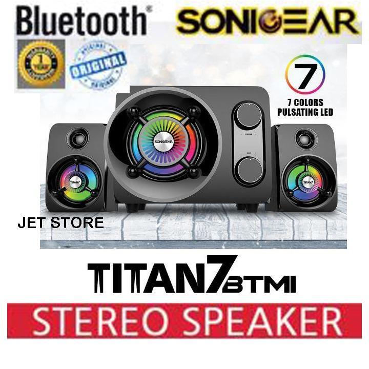 Sonicgear Bluetooth Speaker 2.1 Titan7 Pro BTMI [50 Watt]