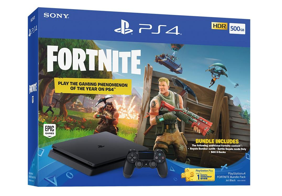 SONY Playstation 4 Slim 500GB CUH-2106A Garansi SONY Fortnite Bundle