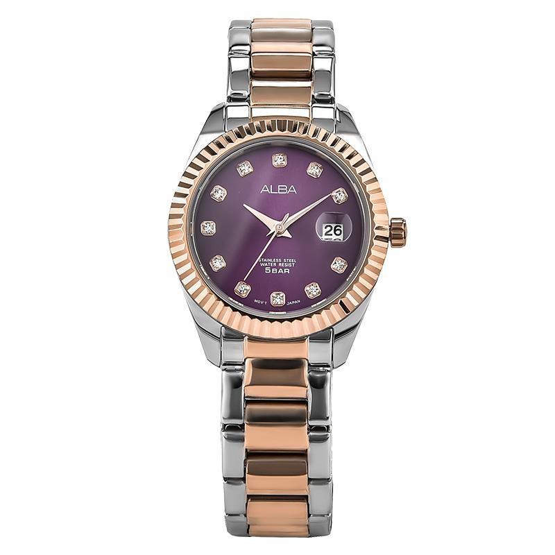 Alba AH7M56X1 Jam Tangan Wanita Stainless Steel Bracelet