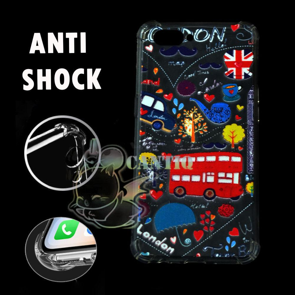 QCF Case Anti Crack Oppo A3s 2018 Anti crack Motif Oppo A3s 2018 Jelly Casing Oppo