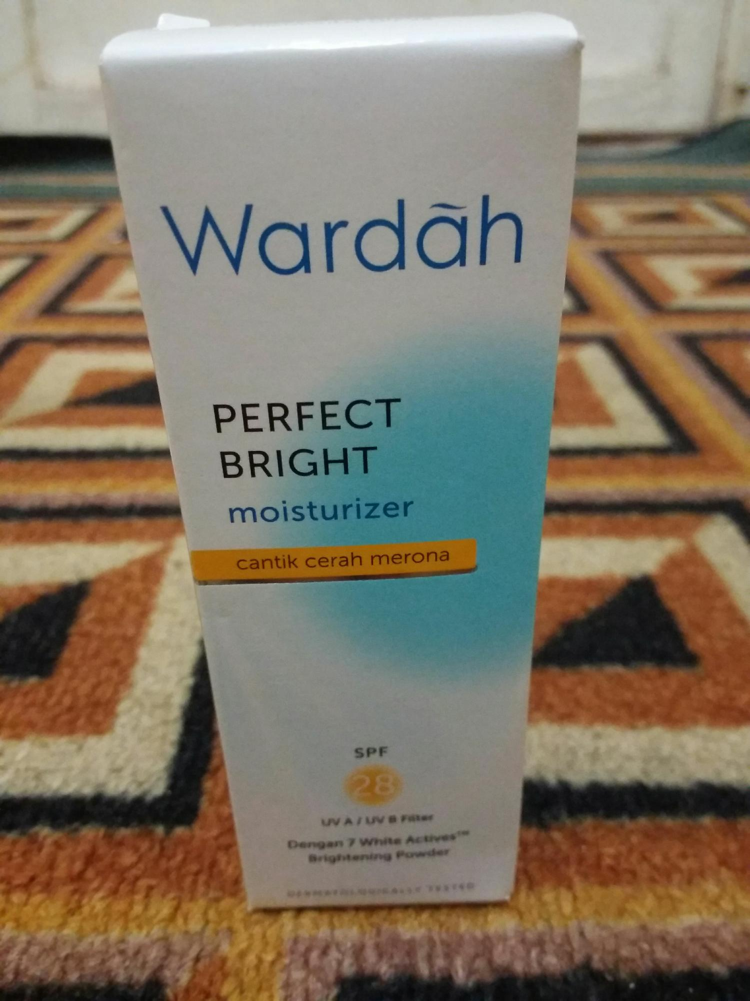 Kehebatan Wardah Hydrating Moisturizer Cream 40ml Dan Harga Update Perfect Bright