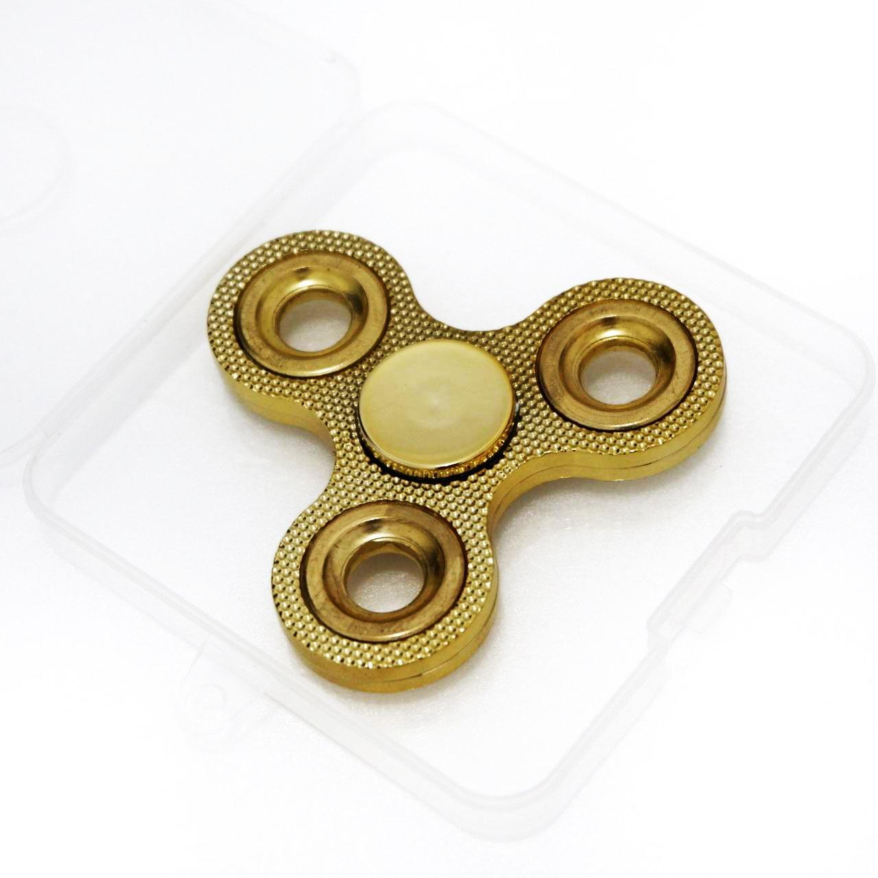 ... Promo Mainan Hand Toys Fidget Spinner EDC Termurah - Gold - 5