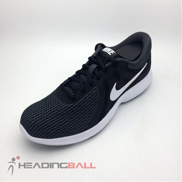 Sepatu Running Lari Nike Original Revolution 4 Black White 908988-001