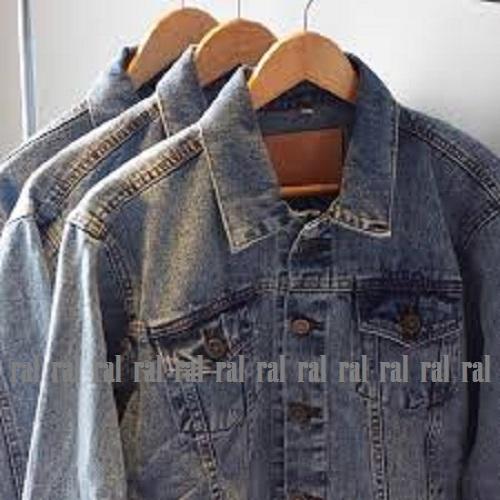 ... RF - jaket jeans denim pria snow wash premium // HOT ITEM - 5
