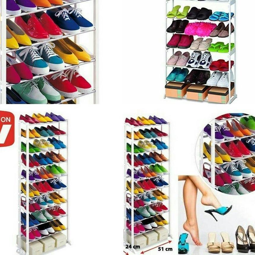 Berapa Harga Anabelle Amazing Shoes Rack Rak Sepatu 10 Susun Di Jawa Timur