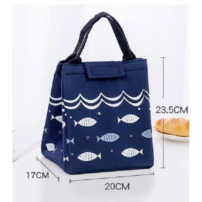 Fitur Tm011 Fish Lunch Bag Cooler Bag Tas Makanan Motif Ikan Dan ... ebd53e1891