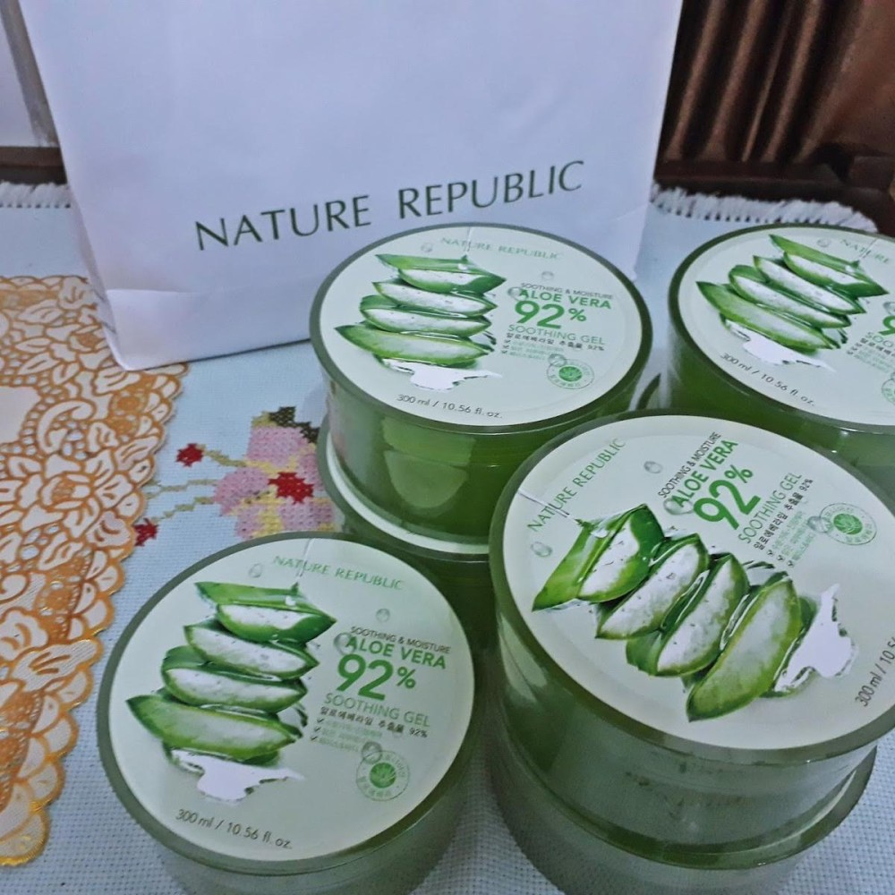 Harga Hemat Nature Republic Aloe Vera 92 Soothing Gel 300 Ml Original
