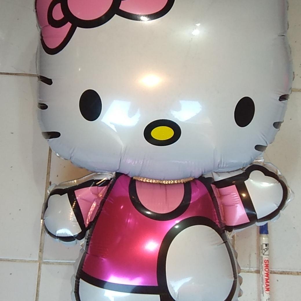 Balon foil hello Kitty / balon karakter hello Kitty