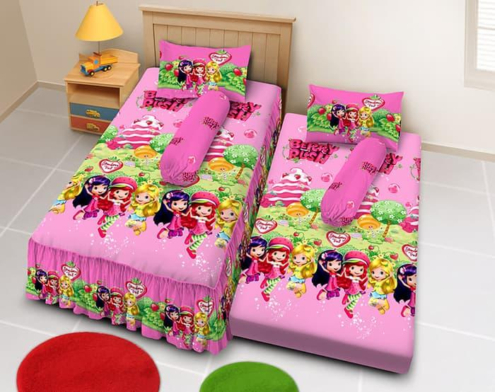 Kintakun D'Luxe Sprei - 120x200 2in1 (Single) - Short C
